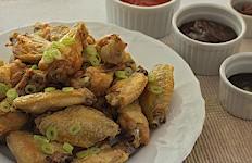 Chrumkavé pečené krídelka na tanieri